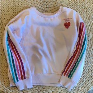 Gymboree Best Day Ever Sweatshirt